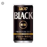 二箱免運 UCC BLACK 無糖黑咖啡 185ml*30