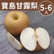 [甜露露]寶島甘露梨5-6入禮盒(7-8斤)