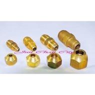 冷氣被覆銅管專用  1/2牙(4分) 3/8孔(3分) 喇叭頭 冷氣冷凍專業工具 單顆入