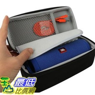 [107美國直購] CO2CREA Hard Travel Case for JBL Flip 4 Waterproof Portable Bluetooth Speaker