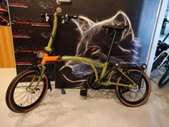 ** Hot Sale $950 ** 2021 Latest Pikes GEN4  PAIKESI Foldable Bicycle  Brompton 6 speed 16 inch Shimano