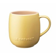 Le Creuset 🇳🇱含羞草黃 霧面 U型蛋蛋馬克杯 LC