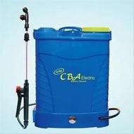 Tangki semprot sprayer elektrik CBA 16 Liter/ petani / Alat Pertanian/ Sepatu Keong/ Alat perkebunan/ Obat Sawah/ disinfektan/ Semprotan Burung/  Pupuk/ pertanian/ perkebunan/ tanaman Hias / Bunga Hias/ Cupang / siwang / alat aquarium/ burung kicau/