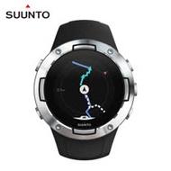 SUUNTO 5 堅固輕巧質精、絕佳電池續航力的多項目運動GPS腕錶【精鋼黑】