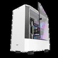 AIGO 電腦機殼 DLV 22 白 電腦機殼 PC機殼 電競機殼 電腦機箱【迪特軍】