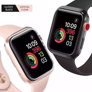 hot  Case AppleWatch เคส AppleWatch Tpuซิลิโคน ใส watch 1/2/3/4/5/6 SE watch 5 W55 p90 p70 p 80