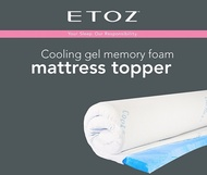 [ETOZ] Gel Memory Foam★Gem★Mattress Topper★Different Sizes Available