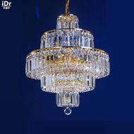 โคมไฟระย้าขนาดเล็กโคมระย้าทองที่ไม่ซ้ำกันครอบครัวราคาไม่แพงโคมไฟคริสตัลโคมไฟ50เซนติเมตร...