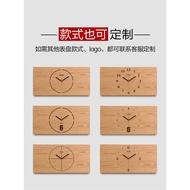 飾畫帶鐘表裝飾時鐘遮擋箱遮電箱的掛鐘定制
