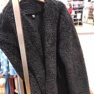 Uniqlo保暖泰迪熊外套大衣,Teddy bear coat