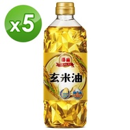 【泰山】玄米油600ml(600ml *5瓶)