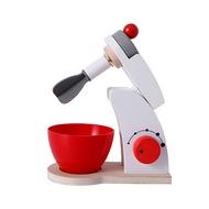 เด็กของเล่นอุปกรณ์ครัวไม้แกล้งชุดของเล่นจำลองToastersเครื่องทำขนมปังกาแฟเครื่องปั่นอบชุดเกม