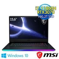 msi微星 GE66 11UG-241TW 15.6吋 電競筆電 (i7-11800H/16G/2T SSD/RTX3070-8G/Win10)