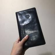 MCM黑色長皮夾