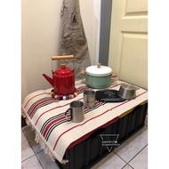 Costco 🇺🇸美國製 露營箱 裝備箱 折疊箱 收納箱   車後箱 木板 折疊籃 汽車收納 露營收納箱 露營折疊箱(200元)