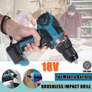 18V Wireless Cordless Electric Screwdriver Drill Rechargeable Tool For Makita