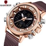 KADEMAN K9071 Male Creative Business Fashion Men Watch Stainless Steel Waterproof Watch Men Original