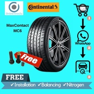 225/50R18 - CONTINENTAL ContiMaxContact MC6 (With Installation)
