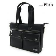 5-P807A【PIAA POLO 皮亞 保羅】俐落側肩款二用公文側背包