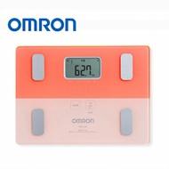 OMRON 歐姆龍體脂計 HBF-225(粉紅色) 贈健康彈力帶