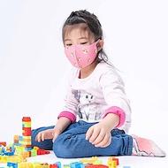 【Prodigy 波特鉅】舒適美3D立體透氣兒童口罩 (甜心萌貓) 2入組