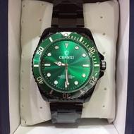Chenxi 綠水鬼鋼帶手錶