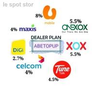 ☢Topup Maxis tunetalk celcom digi umobile semua telco PIN TOP UP / RELOAD RM 10 , 30, 50