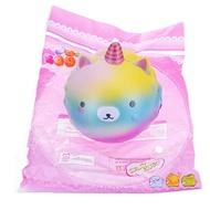 Cute Soft Rainbow Unicorn Whale Strawberry Squishy Charm Decompression Gift Toy