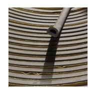 D型氣密條 咖啡色 隔音條 防撞條 門縫條 門邊條 消音條 門窗密封條 長度單位-尺(303mm)