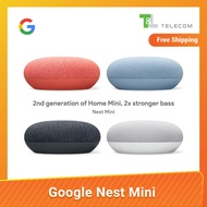 Google Nest Mini - 2nd Generation Google Home Mini - Latest Smart Speaker by Google - 3 Pin Plug Edition