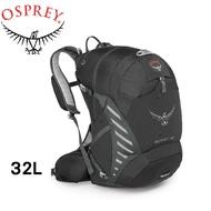 【OSPREY 美國 ESCAPIST 32L 專業單車背包 黑】ESCAPIST32/自助旅行背包/露營/隨/悠遊山水