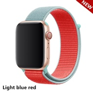 Sport Soft Lightweight Strap Nylon Loop Replacement Wristband Compatible for Apple Watch 42mm/44mm 38mm/40mm Series 5/4/3/2/1 for i Watch