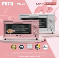 OVEN MO-20 MITO Oven Electric Mini 11 Liter Low Watt Hemat Listrik ( Khusus JABODETABEKKAR)