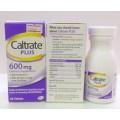 CALTRATE PLUS 600mg 60tab (แคลเทรต พลัส)