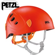 Petzl Picchu 兒童頭盔/多功能安全頭盔/岩盔/安全帽/自行車頭盔 A49C G 橘紅