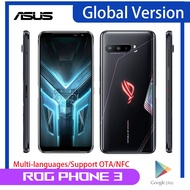"Asus ROGโทรศัพท์3 5Gสมาร์ทโฟนGlobal Version 512GB 12GB Snapdragon 865 + 6.59 ""64MP 6000MAh NFC ROG3เกมโทรศัพท์มือถือ"