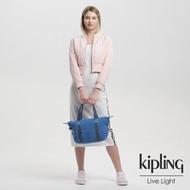 【KIPLING】經典海洋藍手提側背包-ART MINI