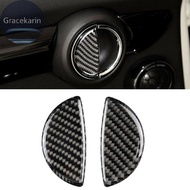 Door Handle Trim Auto Interior Inner Cover Replacement Carbon Fiber For BMW Mini Cooper R55 R56 R60 R61 F55 Parts