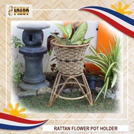 """TATAK PINOY Rattan Plant Stand Flower Potted Holder Rack for Indoor and Outdoor (Plant and Pot Not Included) """"BIG SALE"""""""