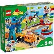 高雄 磚賣站 LEGO 10875 DUPLO 德寶 火車 貨運列車 電動火車