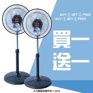 買一送一【華元】12吋360度循環涼風扇 HY-1208 (一箱2入)