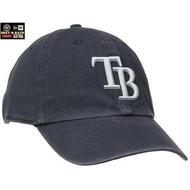[SREY帽屋]47 Brand CLEAN UP MLB 坦帕灣光芒 經典LOGO 美國純正購入 棒球帽 老帽