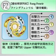 【Susu本舖】戰鬥陀螺 爆裂世代 獠牙魔狼 結晶輪盤 拆售系列 未含鋼鐵輪盤、軸心 B80 BG07 B62