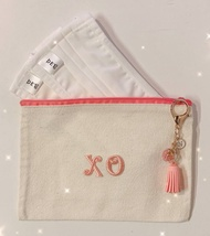 PROMO Customised name keychain Pouch Wallet Coins Money Holder Trace Together Token Pouch Mask Storage Container Transparent casing for face mask Face Mask Holder Storage Keeper Clip Case Container Compact Foldable Storage Hygiene STORAGE PORTABLE DURABLE