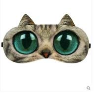 發熱眼罩   貓咪發熱眼罩睡眠眼睛充電熱敷蒸汽usb緩解遮光眼疲勞可愛電加熱  印象部落