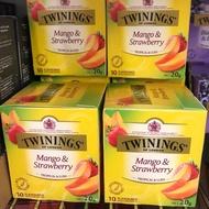(新品上市)Twinings 唐寧茶 芒果草莓水果茶 10入