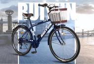瑞韻26寸男式自行車男士輕便城市通勤休閒車學生車成人復古單車