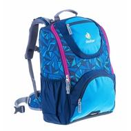 Deuter Smart Ergonomic Kids School Bag Backpacks - Midnight Zag Print