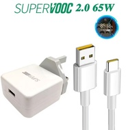 oppo 65W super vooc charger phone USB Type-C Cable