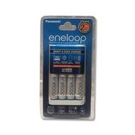 國際牌 Panasonic eneloop 快速充電器組(BQ-CC16充電器 / 充電座 + AA三號電池 2000mah 電池*4) 低自放充電電池套組 可充放電 一次可充AA三號或AAA四號電池4顆◆02-28943045